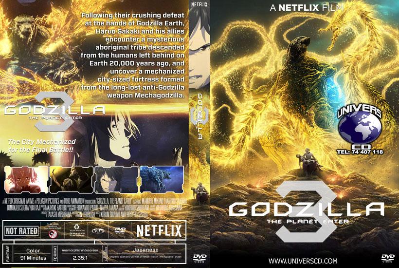 Godzilla 3 The Planet Eater