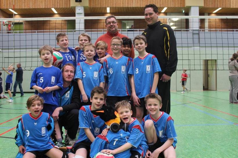 Bezirksmeister Rheinland 2015 (U12 I) sowie 4. und 10. Platz (U12 II u. III)