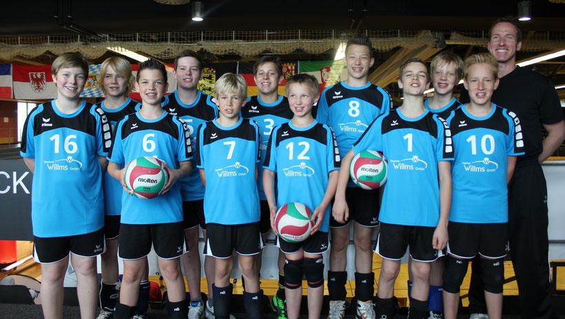 mU14 2013/2014 (Westdeutscher Meister 2014 und 8. Platz bei der Deutschen Meisterschaft)