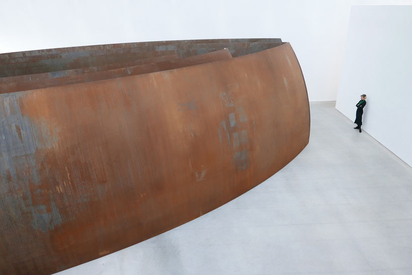 Richard Serra (geb. 1938): Open Ended (2007-2008), Foto: Ulrike Grafberger
