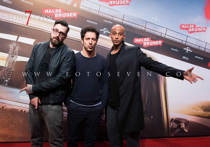 Kino Premiere in Köln • Halbe Brüder