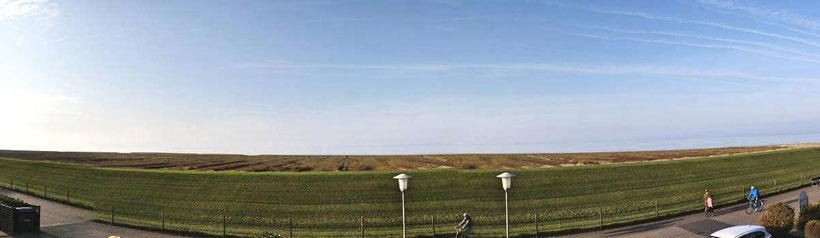 Meerblick der Residenz Windjammer