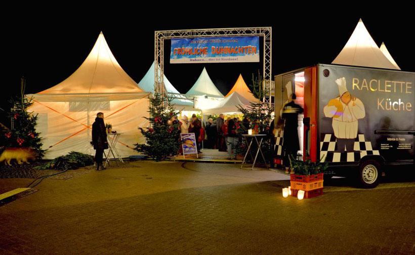Der Festtagsmarkt in Duhnen