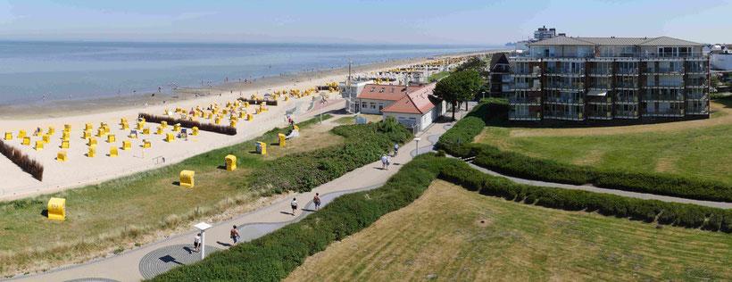 Strand-palais Duhnen Haus I