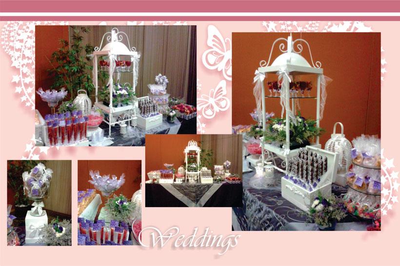 mesa de dulces y postres bodas xv a os bautizos primera