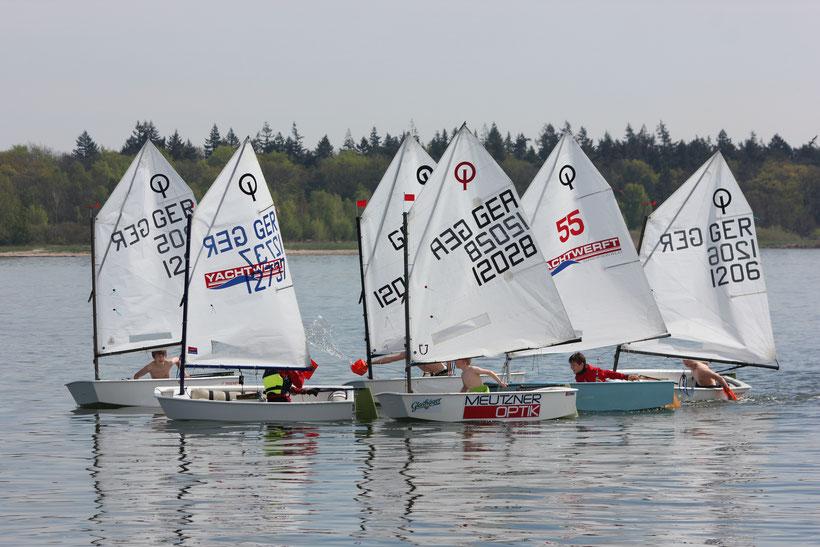 Unsere Flotte vom Peenestrom: Wasserschlacht beim Warten auf den Wind