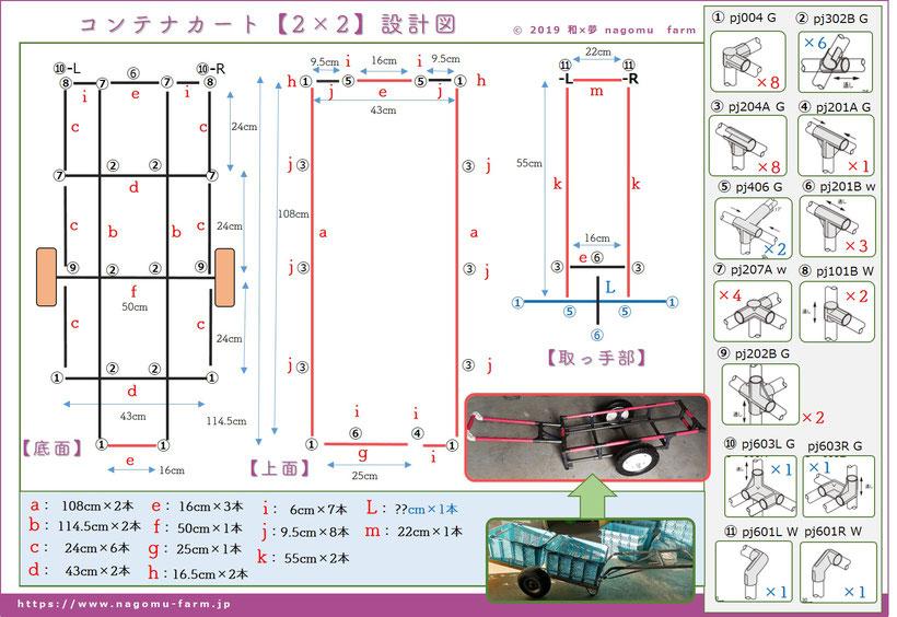 タイムボカンカート【最終モデル:参号機】設計図 和×夢 nagomu farm