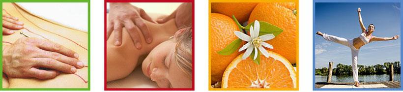 Das Viersäulenkonzept, Naturheilpraxis Emea Lörrach. Energiefluss, manuelle Therapien, gesunde Ernährung und Training bei Schmerzen, Blockaden, Verdauungsproblemen, Hautproblemen, Depressionen