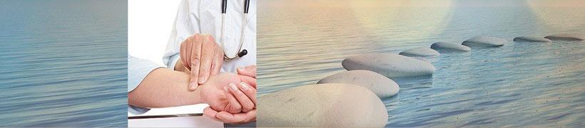 Methoden der Diagnostik, um Krankheitsbilder und Störungen zu erkennen bei EMEA Heilpraktiker, Lörrach. Ausführliche Anamnese, Manuelle Untersuchung, Energetische Testmethoden APM, Touch for Health, Pulsdiagnosik, Antlitzdiagnostik, Blutbildanalysen.