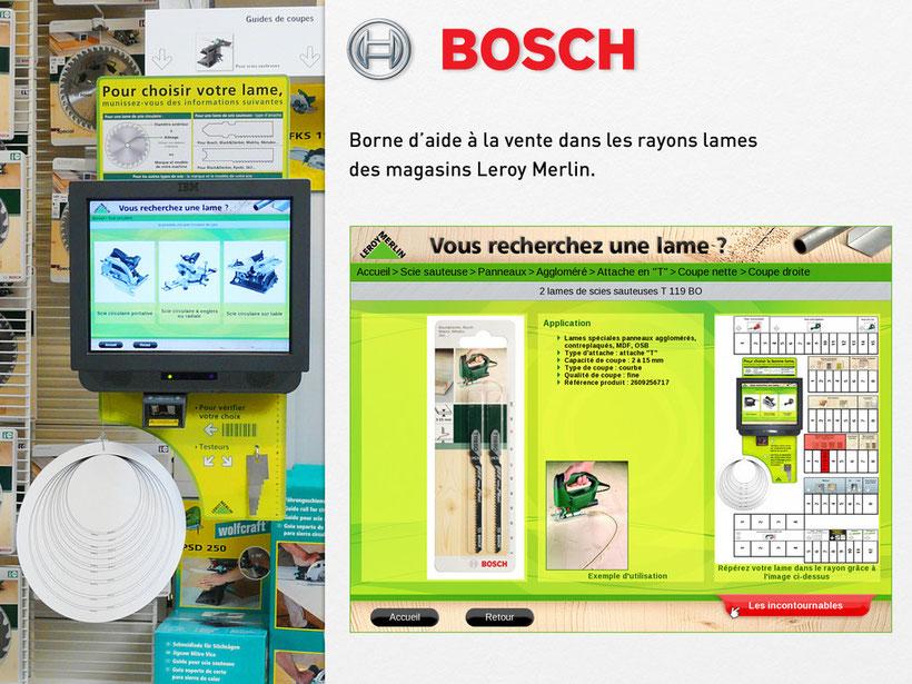Bosch Pour Leroy Merlin Aide à La Vente Vincent Rousseau