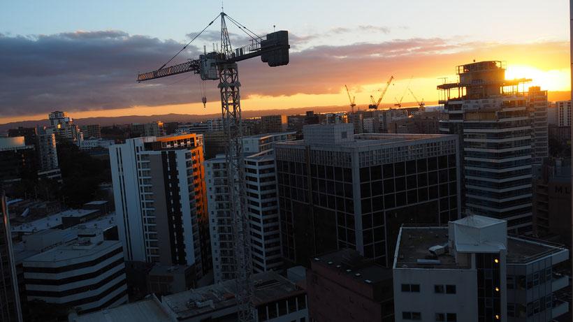 Meine Aussicht in Auckland beim Couchsurfer Nicholas aus Kolumbien