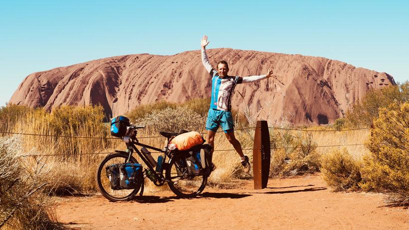 Beim Ayers Rock / Uluru