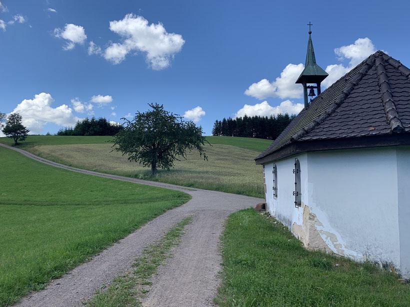 """Die Robertskapelle am """"Hinteren Geisberg"""""""