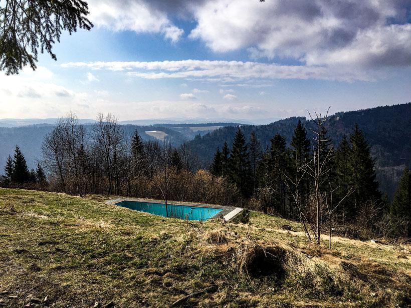 Infinity Pool im Schwarzwald
