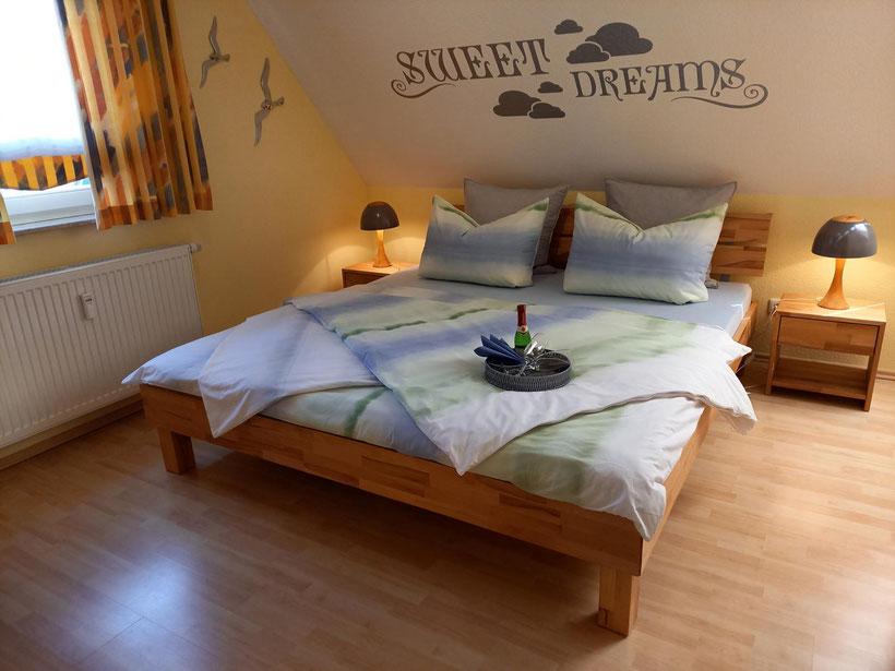Prerow | Ferienwohnung Buchentraum 1/4 - Schlafzimmer 1