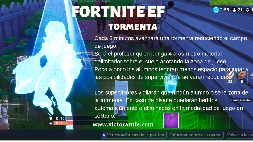 FORTNITE EDUCACIÓN FÍSICA UNA PROPUESTA INNOVADORA