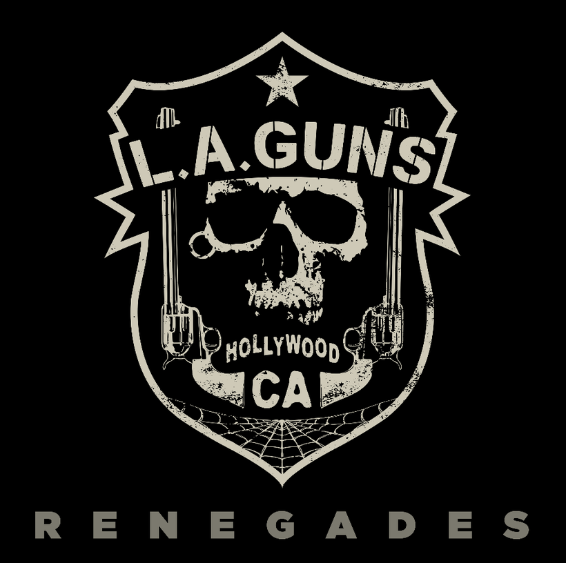 L.A. GUNS release new album 'Renegades' on 13th November, out on Golden Robot Records and available for pre-order now, rockers and other animals