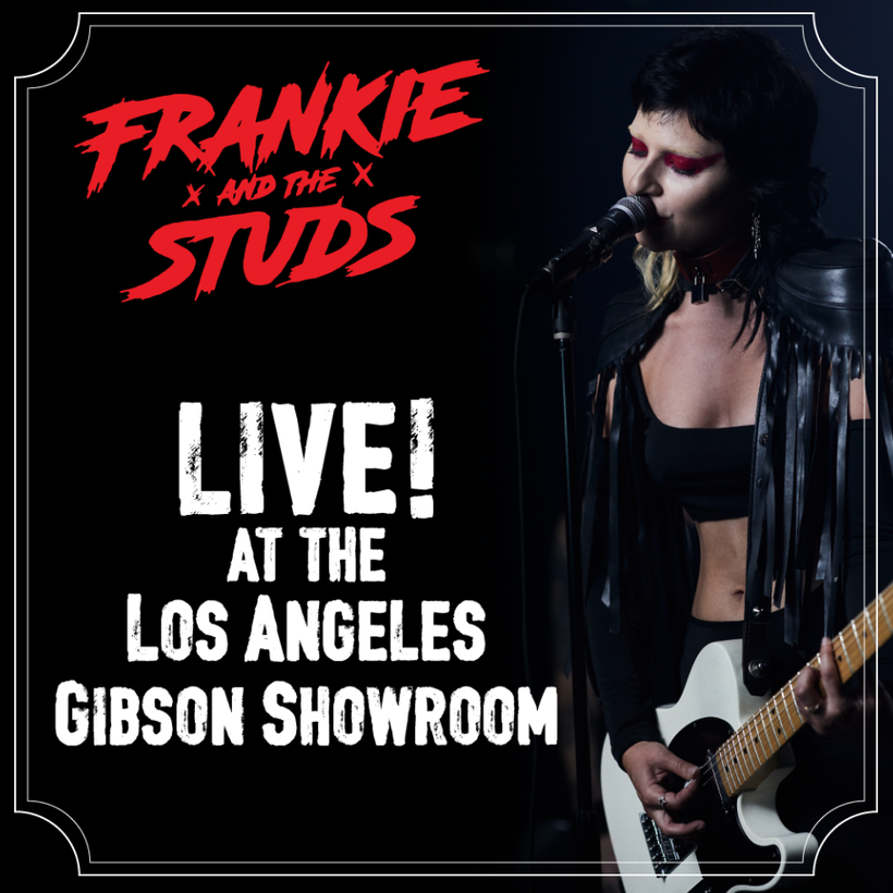Frankie + The Studs LIVE stream shows are coming on 2nd & 3rd October