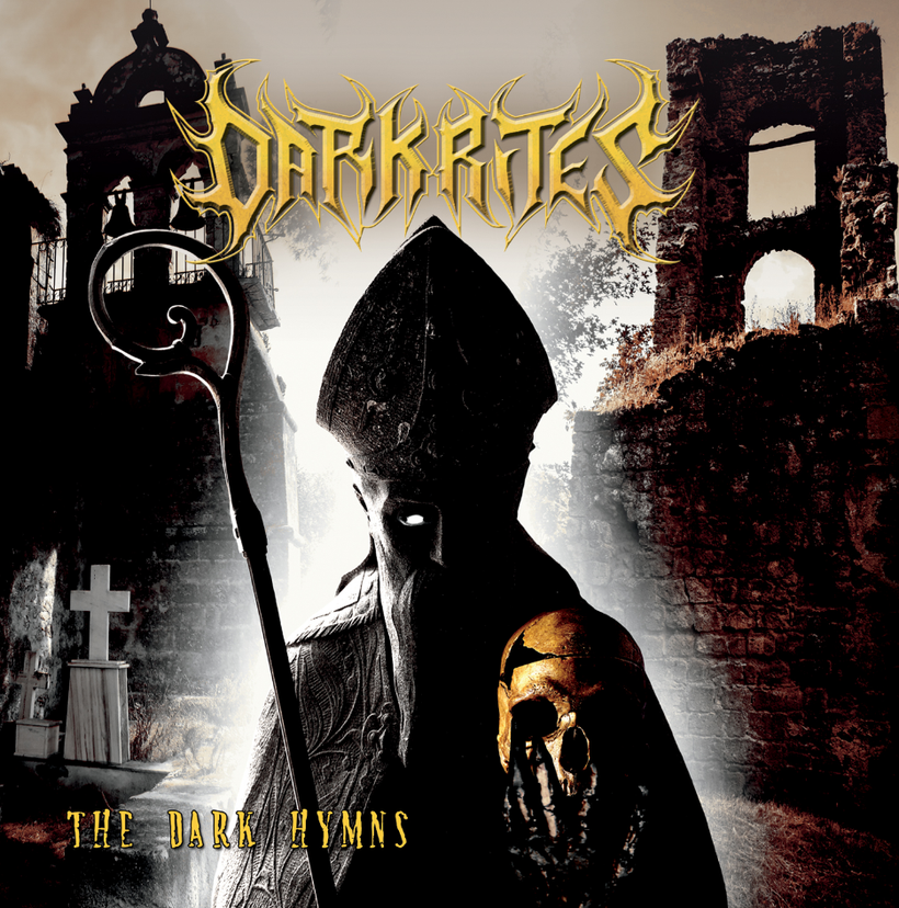 "DARK RITES ""The Dark Hymns"" New Premiere Lyric Video ""Shadow God"" rockers and other animals"