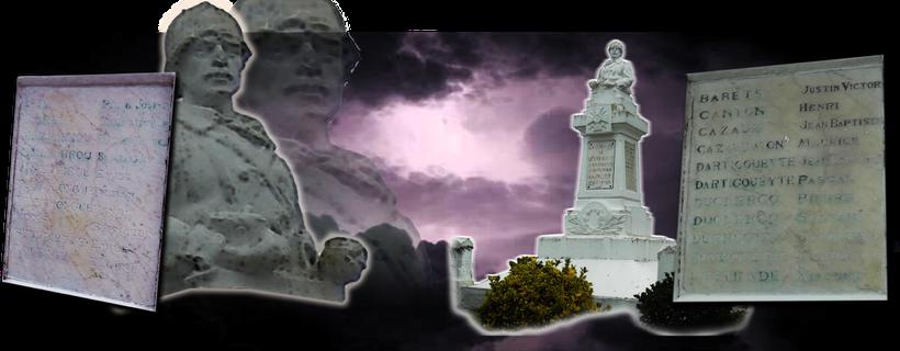 Peyrehorade, Oeyregave, pays d'Orthe, landes, aquitaine, sud-ouest, Grande Guerre, 1914-1918, monument aux morts, Craonne, Verdun, Chemin des Dames,  Poilu, Mort pour la France, Somme, tranchée