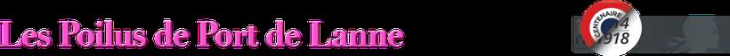 Orthe, peyrehorade, Port de Lanne, Landes, monument, grande guerre, monument aux morts, commémoration, Poilu, tranchée