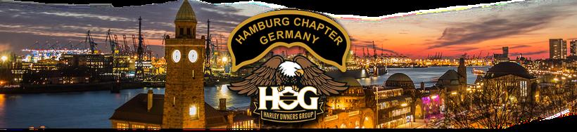Grafik: Willkommen beim  Hamburg Chapter Germany | Lokales Harley-Davidson Chapter in Hamburg - Teil der Harley Owners Group H.O.G.®