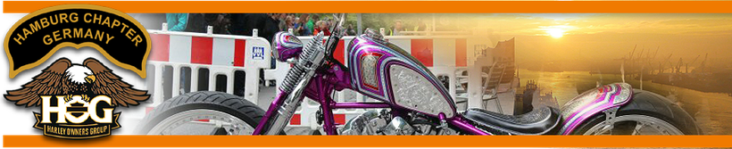Menügrafik: Foto Galerie - Hamburg Harley Days - Ride-In Bike-Show auf der Mönckebergstraße, durchgeführt vom Hamburg Chapter Germany