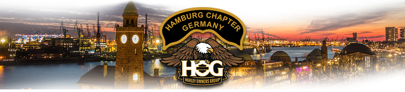 Grafik: Willkommen beim  Hamburg Chapter Germany | Lokales Harley-Davidson Chapter in Hamburg - Teil der Harley Owners Group H.O.G.®