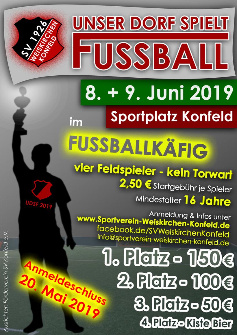 Unser Dorf spielt Fußball SV Weiskirchen Konfeld Weiskirchen Konfeld Holzbachtal-Stadion