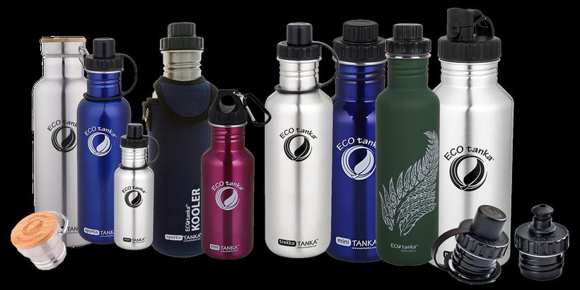 Die Ecotanka Trinkflaschen aus Edelstahl