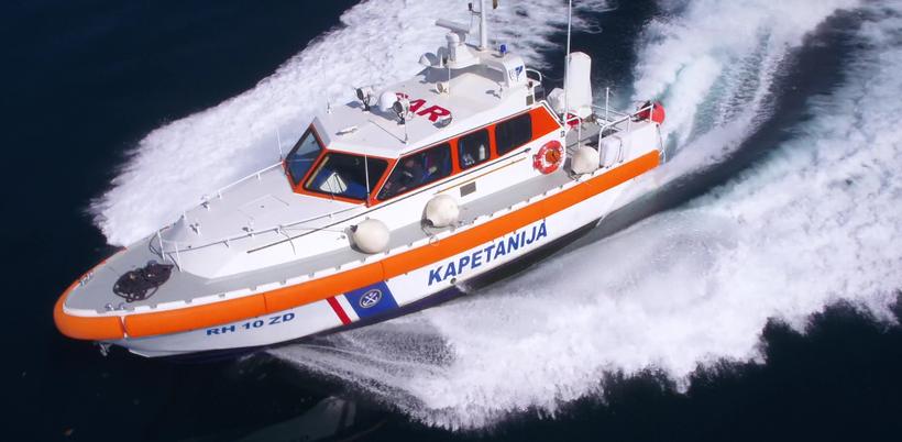 TRAGANJE I SPAŠAVANJE NA MORU VIDEO küstenpatent boat skipper kurs prüfung split rijeka kroatien