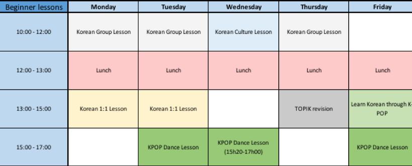 About ACOPIA School Training Program - KPOP SCHOOL