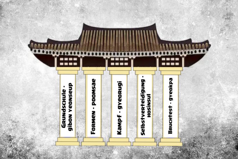 Die fünf Säulen des Taekwondo