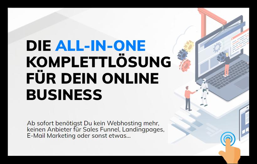 Hole Dir alle wichtigen Tools für Dein Online Business!