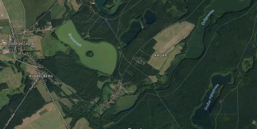 Kagar, Rheinsberg, Mecklenburgische Seenplatte, Wald, Urlaub