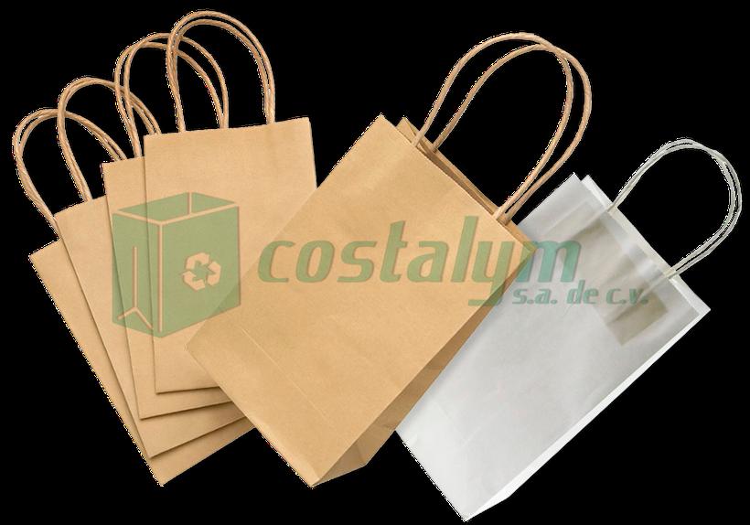 textura clara calidad estable venta limitada Bolsas de Papel Kraft - Costalym, S.A. de C.V.