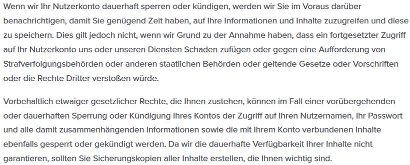 Wenn TikTok den Account dauerhaft sperrt oder löscht - Rechtsanwalt Sven Nelke