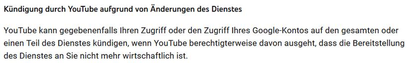 YouTube Konto gekündigt - Rechtsanwalt Sven Nelke