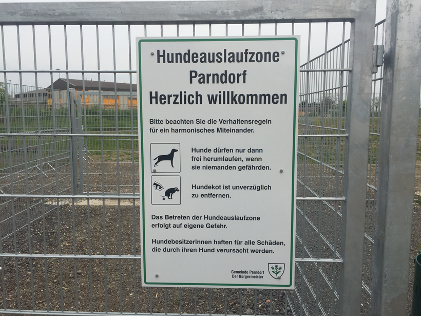 Hundezone Parndorf, Outlet Center, Burgenland