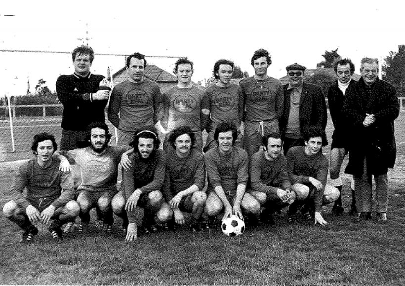 Equipe RESERVE Saison72/73 Match du titre