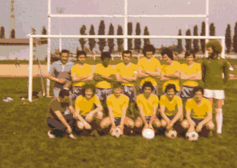 Equipe RESERVE Saison 75/76 Sacrée championne avec un record de buts
