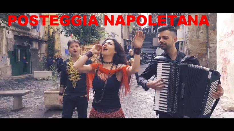 La Posteggia Napoletana, caratterizzata dall'interpretazione live delle canzoni più antiche e belle della tradizione napoletana, è un'animazione musicale elegante, briosa e divertente, ideale per l'intrattenimento degli ospiti di qualsiasi pranzo o cena d