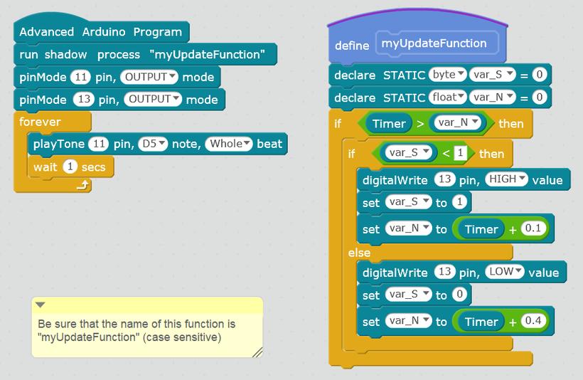 Advanced Arduino Extension v2 5 for mBlock - Лаборатория проектов