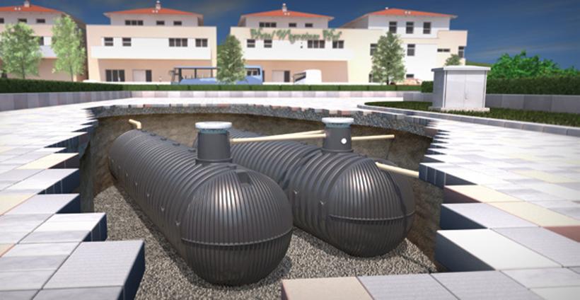 Soluciones para condominios - Plantas depuradoras compactas - Aqualimpia Engineering e.K.