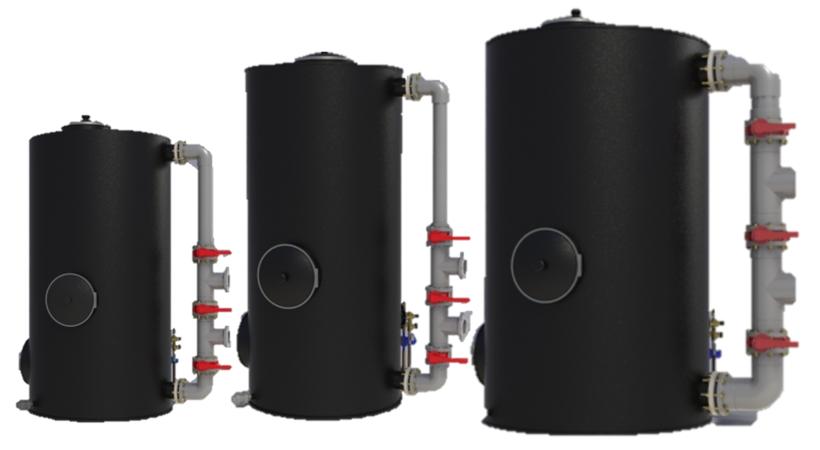 Filtro de remoción de H2S y siloxanos - Aqualimpia - filtros de carbón activado reducción de H2S - carbon activado reducción de siloxanos - remoción de H2S en el biogás