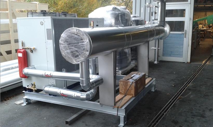 Enfriador de biogas - secador de biogas - Chiller para  biogas  - Aqualimpia Engineering