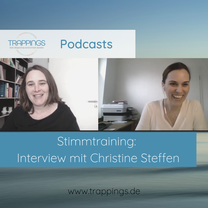 Stimmtraining - Interview Christine Steffen - Katharina Leistikow - Online Marketing Beratung und Positionierung - Teil 1 von 4 - Blog Vorschaubild