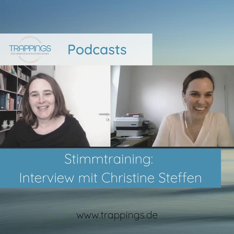 Stimmtraining - Interview Christine Steffen - Katharina Leistikow - Online Marketing Beratung und Positionierung - Teil 2 von 4 - Blog Vorschaubild