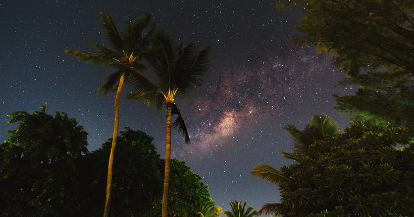 Mauritius Merville Beach Milky Way