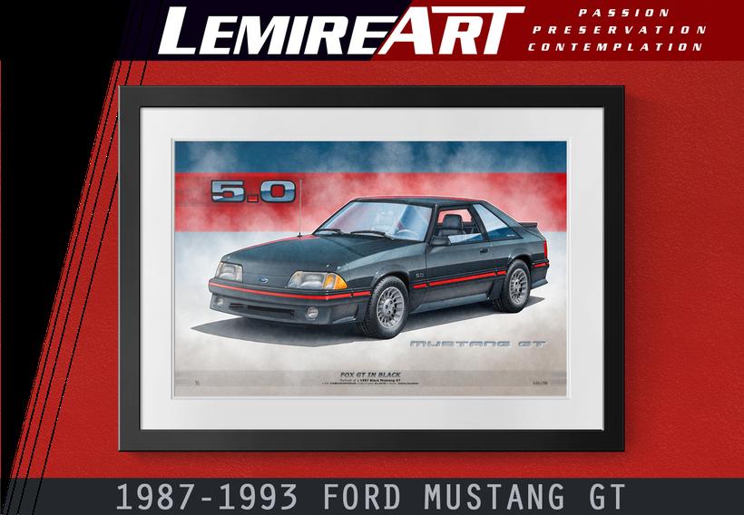 Mustang GT 1987 1988 1989 1990 1991 1992 1993